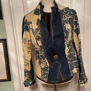 Elisa cavelleti jean jacket